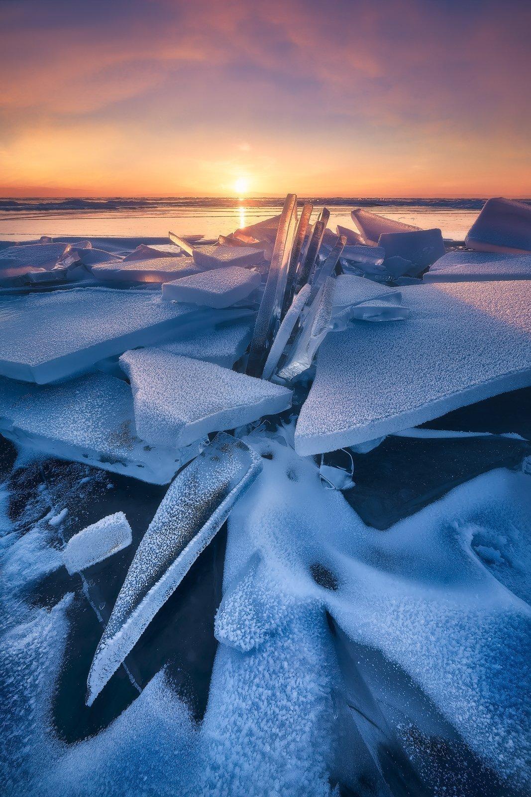 amanecer en Baikal