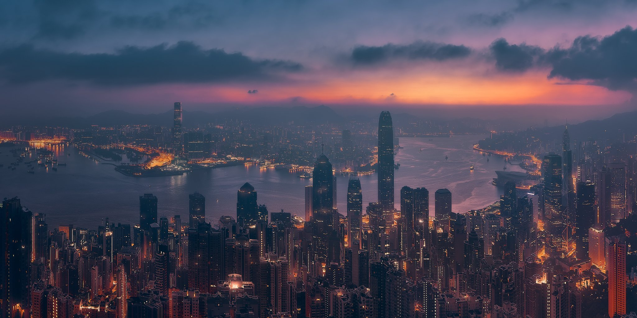 Sunrising Hong Kong