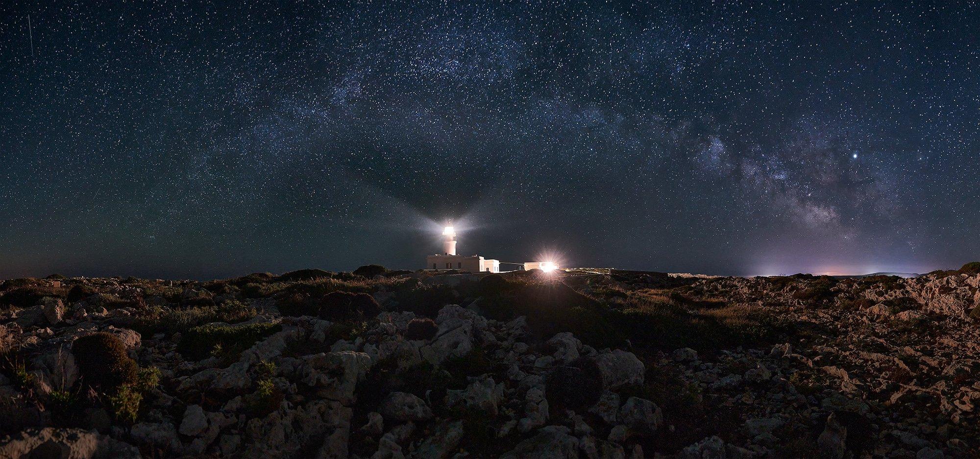 Caballeria Lighthouse Antes