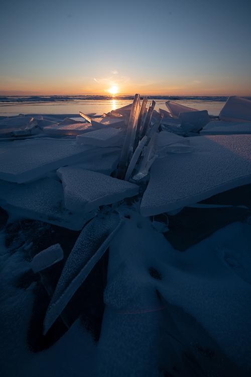 Sunrising Baikal Antes Small