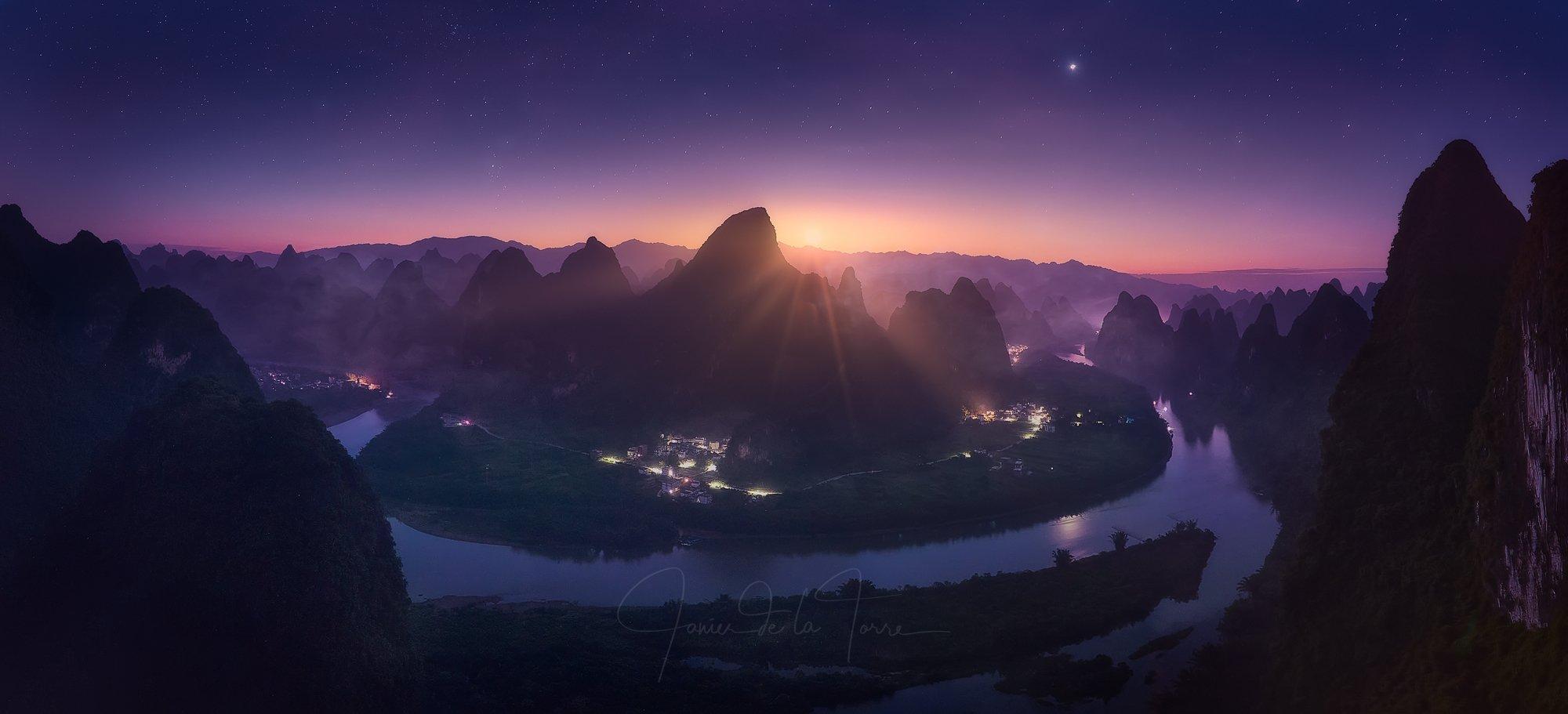 Xiangong Hill Sunrise