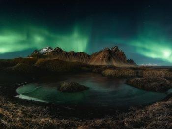 Aororas Boreales Islandia