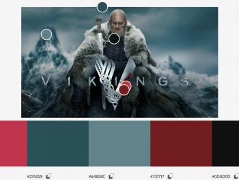 teoria de color serie vikings