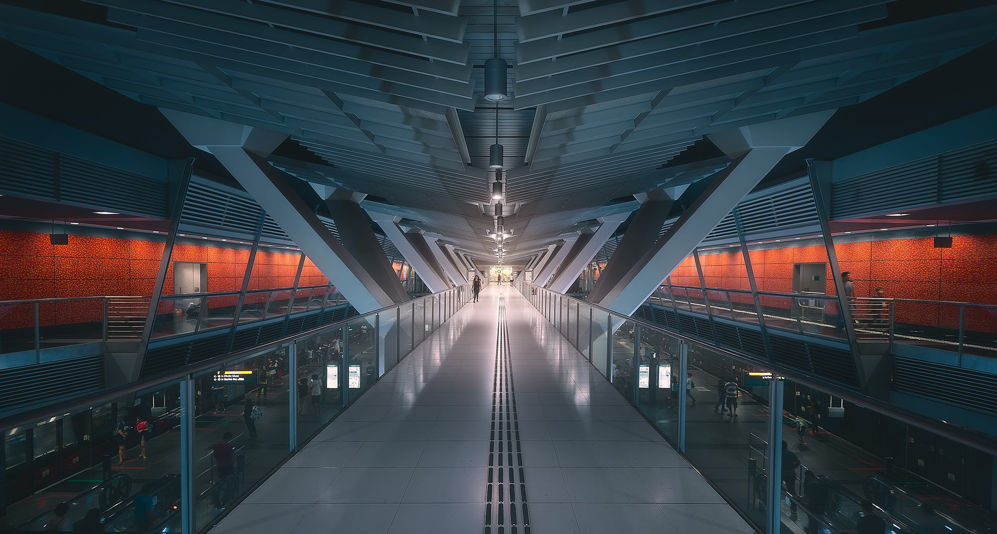 The MRT Station